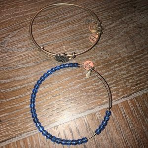 "2 ""energy"" Alex and Ani bracelets"